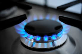 gas cooking stoves. Gas Burning From A Kitchen Stove Cooking Stoves