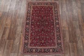 consigned antique oriental handmade persian area rug red 6 9 x4 3 traditional area rugs by rugsource inc