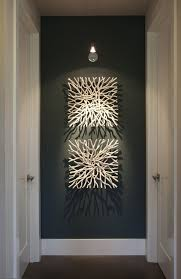 large hallway wall art