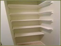 corner closet shelves formidable diy interior ideas