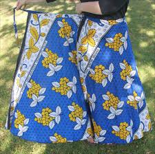 African Skirts Patterns Inspiration Wrap Skirt And ALine Skirt EPattern Sense Sensibility Patterns