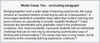 Example Of A Good Conclusion For An Essay Conclusion Essay Example Rome Fontanacountryinn Com