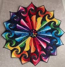 Πάνω από 25 κορυφαίες ιδέες για Spiral quilting στο Pinterest ... & Looking for quilting project inspiration? Check out Rainbow Vortex by  member Abbyvb. Adamdwight.com