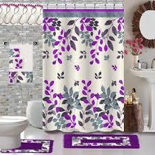 design shower curtain bathroom set