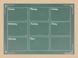 one week menu planner weekly menu planner whiteboards tailor made whiteboards