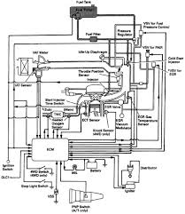 toyota runner multiport fuel injection mfi schematic diagram