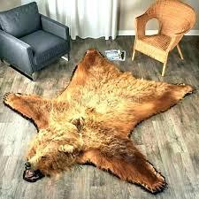 fake polar bear rug with head photo 4 of skin rugs for faux nursery