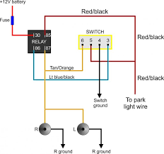 fog light wiring diagram relay circuit wiring and diagram hub \u2022 Fog Light Wiring Diagram Simple prime bosch fog light relay wiring diagram wiring diagram for fog rh azoudange info aftermarket fog light wiring diagram 2013 focus fog light relay