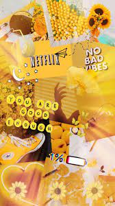 Aesthetic Wallpaper Collage Yellow ...