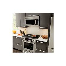 kitchenaid khmc1857bsp architect series ii 1 8 cu ft over the range convection microwave oven view larger image