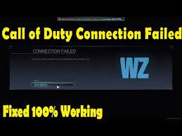 call of duty warzone connection failed