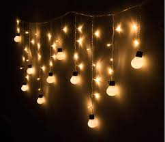 super bright 48led xmas warm globe ball garden room tree party decor string fairy bulb light for hallowmas festival decoration fairy lights led