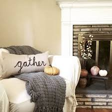 Giant Pumpkins In Footed Urns Make A Statement Here Photo Pottery Barn Fall Decor