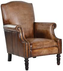 distressed leather chair. Contemporary Chair Distressed Leather Armchair And Chair E