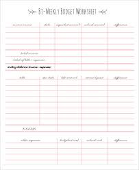 free download budget worksheet monthly budget template free download