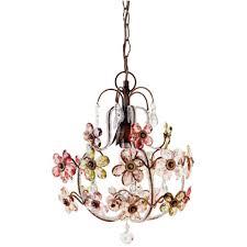vintage flower chandelier