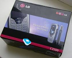 Review of GSM handset LG C2500