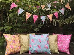 fl 100 waterproof outdoor pvc coated garden bench seat cushions bunting