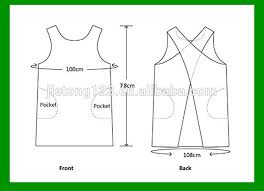 Japanese Apron Pattern Inspiration Japanese Style X Shape Kitchen Cooking Clothes Apron Olid Color