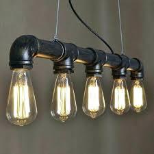 industrial pipe lighting. Pipe Chandelier Industrial Lighting A
