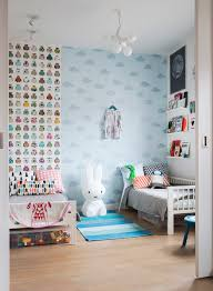 zones bedroom wallpaper: gorgeous childrens bedroom especially love the miffy lamp ladnebebe in creative childrens spaces by ashlyn gibson reviewed on little green shed
