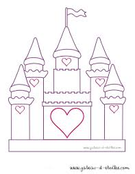 Chateau De Princesse Colorier Coloriagecars Me