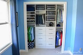 Small Reach in Closet Organization Ideas The Happy Housie
