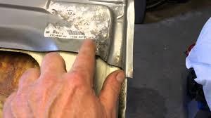 vw t25 chassis repair sliding door rust surprises part 28 you