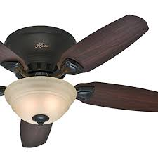 more ing choices for hunter fan 46 low profile premier new bronze finish ceiling fan with painted cased white light kit