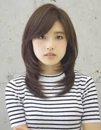 暗髪黒髪小顔ひし形スタイルko 49 ヘアカタログ髪型ヘアスタイル
