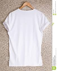 Design Your Own Clothes Template White T Shirt Template On Hanger Ready For Your Own Design