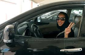 المراة السعودية وقيادة السيارة