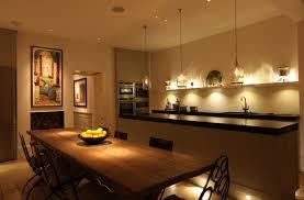 kitchen dining lighting. Kitchen By Night Dining Lighting