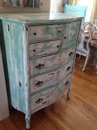 antique chest of drawers turquoise white distressed and aged to perfection custom work we did pinterest antique distressed furniture