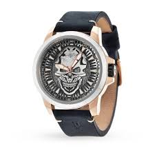 mens police reaper watch mens watches watches goldsmiths mens police reaper watch