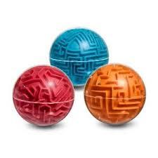 <b>Головоломка лабиринт Сфера</b> оранжевая <b>Эврика</b> Размеры