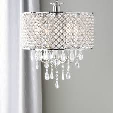 drum chandelier crystal