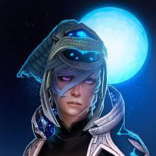 a stunning portrait of luna dota2