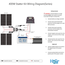 off grid solar power wiring diagram wiring diagrams mashups co Dish Vip722k Wiring Diagram 400 watt off grid monocrystalline solar starter kit hqst solar off grid solar power wiring diagram dish network vip722k wiring diagram