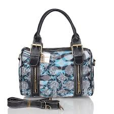 Latest Coach Poppy In Signature Medium Blue Luggage Bags Ceb Sale 3sTM0