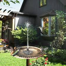 outdoor fountains 1set solar powered