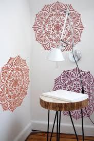 large wall stencils for paintingMedallion Wall Stencil  Mandala Stencil  Furniture Renewal