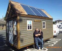 solar powered tiny house. TinyHouseUK Arrive In Sunny Newton Stewart Solar Powered Tiny House S