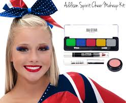 taylor emeral glitter cheer makeup kit addison spirit cheer makeup kit
