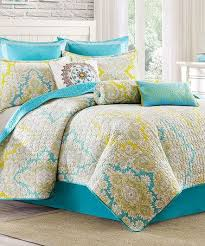 102 best Bedding images on Pinterest | Bed linen, Bedding and ... & Loving this Turquoise & Yellow Paisley Quilted Reversible Coverlet on  #zulily! #zulilyfinds Adamdwight.com