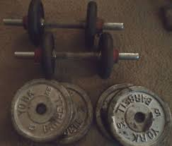 york barbell weight. get quotations · lot vintage york barbell weights silver black dumbell bar collars 5kg 2.5k york barbell weight