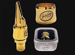Amazon Com Jodyjazz Power Ring Gold Clarinet Ligature