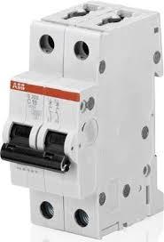 ABB <b>S202 Автоматический выключатель</b> 2P <b>40А</b> (С) 6kA ...