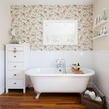 Image Frontline Bathroomwallpaperideasbirdprint Ideal Home Bathroom Wallpaper Ideas Waterproof Bathroom Walllpaper Ideas