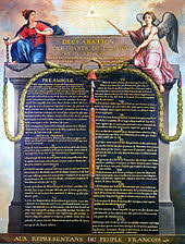 th century declaration of the rights of man and of the citizen